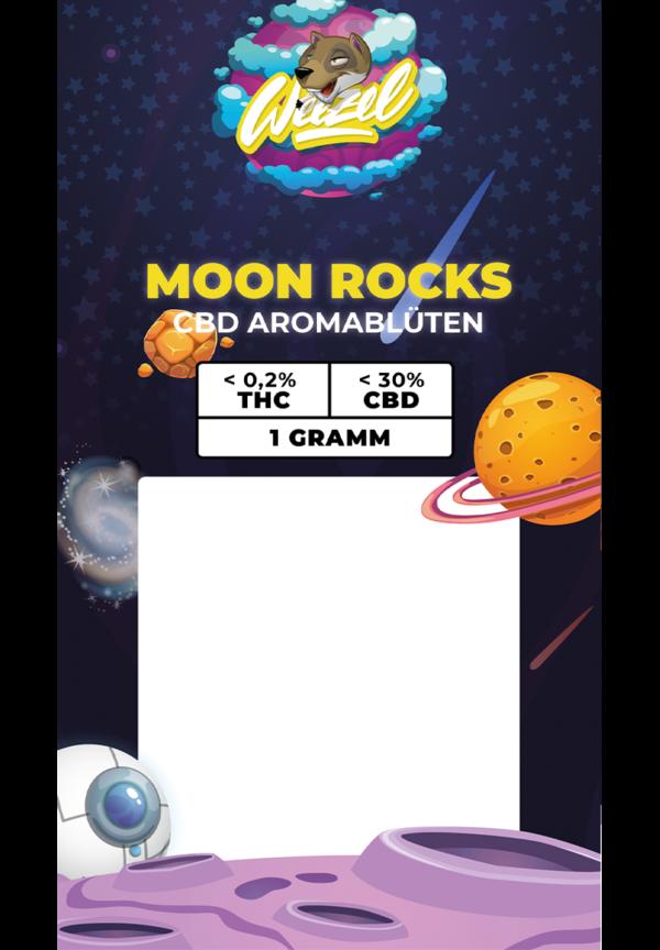 Premium CBD Moon Rocks Packung 1G