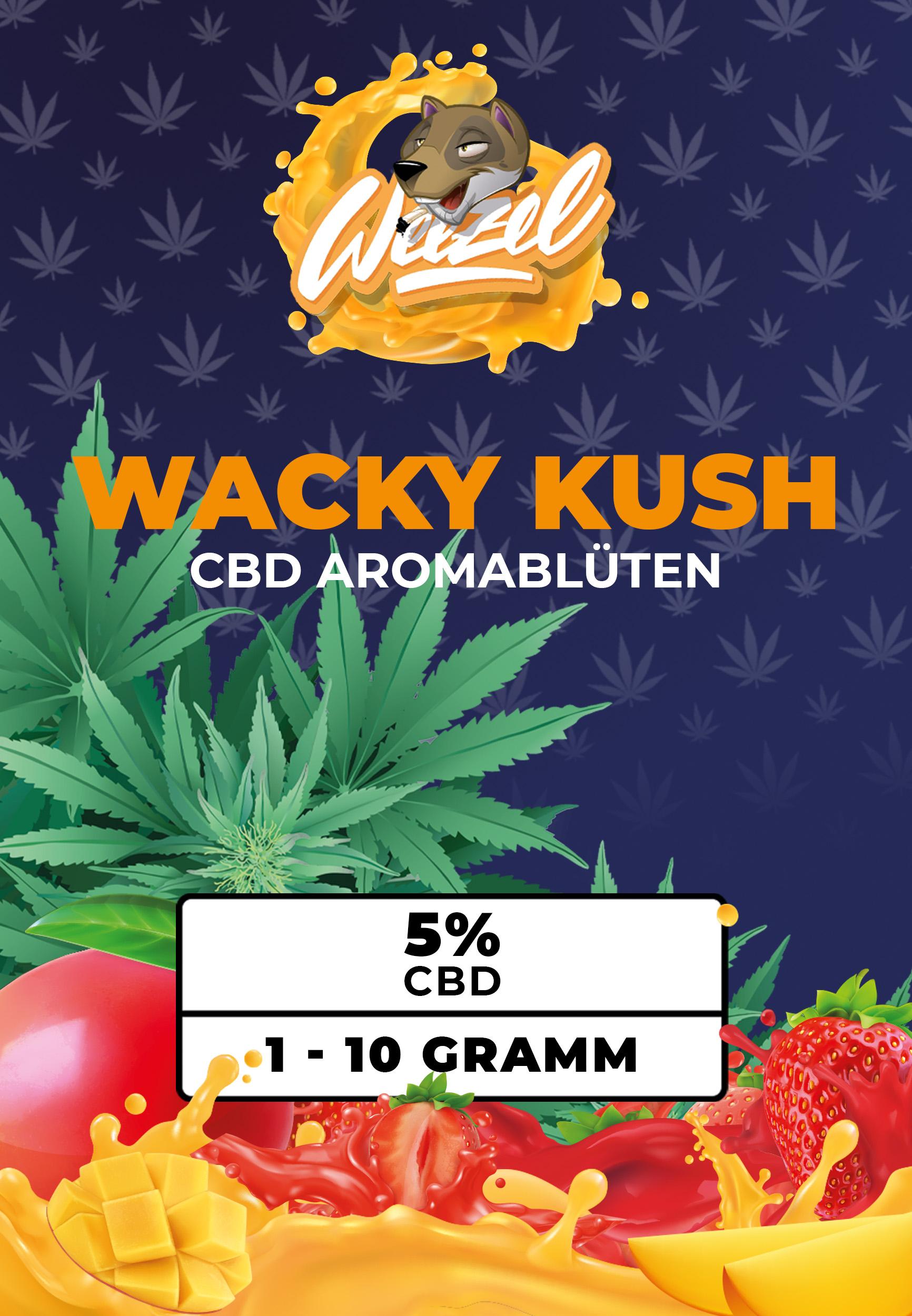 CBD Wacky Kush online kaufen