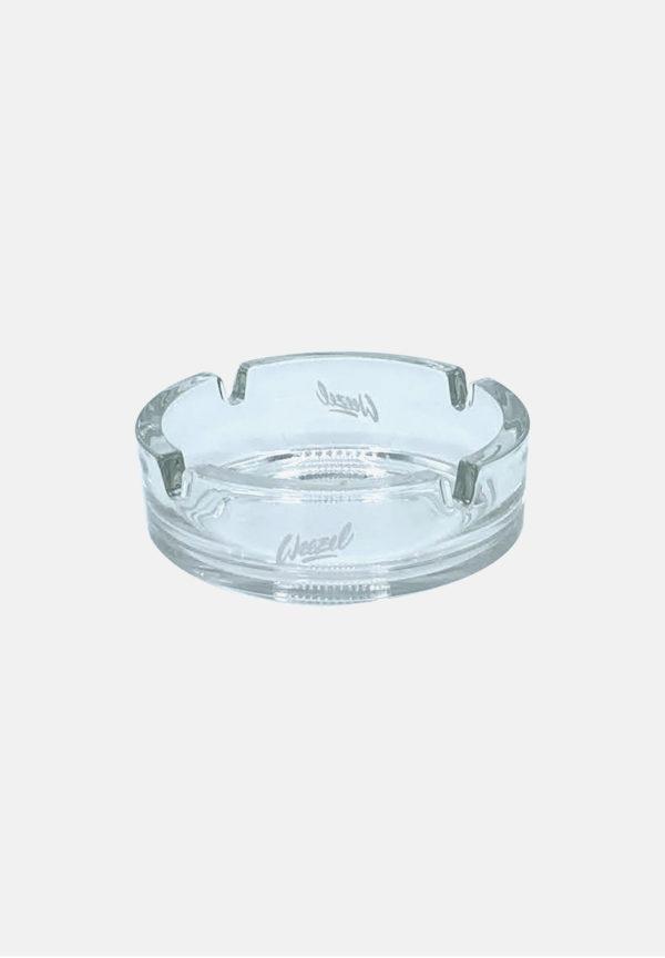 Glas Aschenbecher von weezel - stil: minimal - Klein von vorne