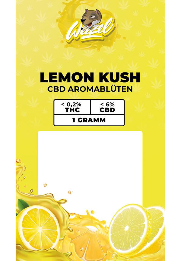 1 Gramm Lemon Kush - CBD Aromablüten