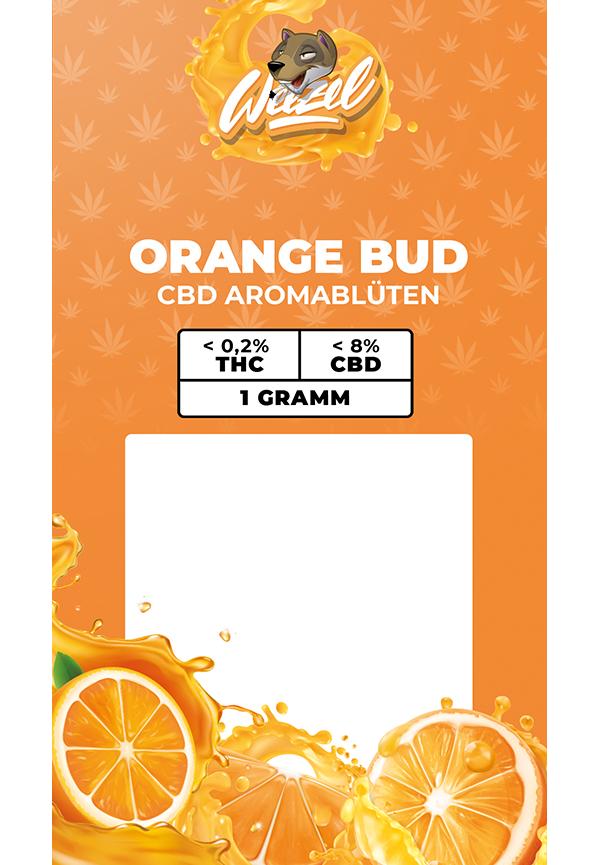 1 Gramm Orange Bud - CBD Aromablüten