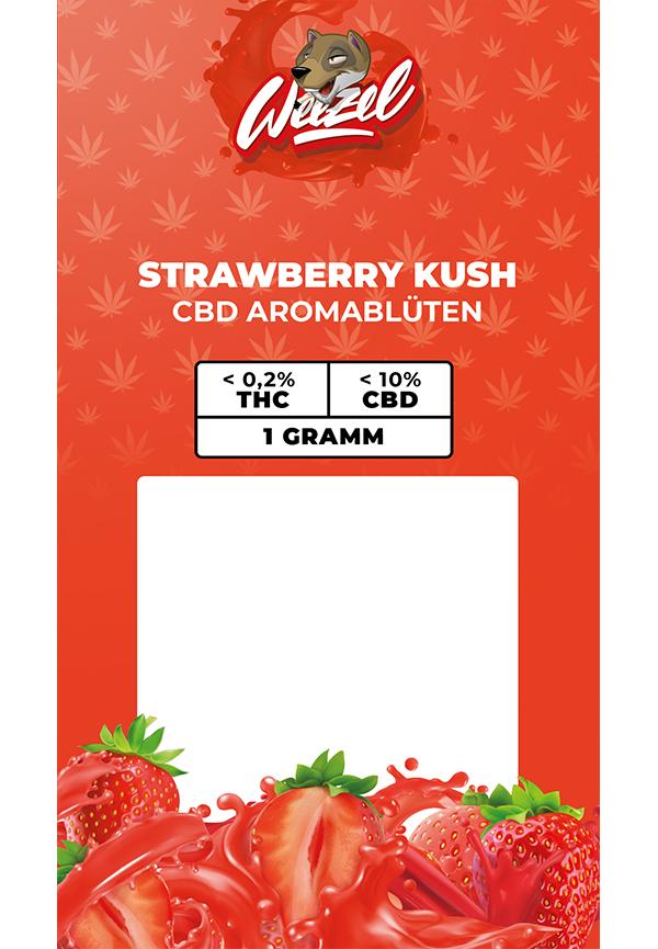 1 Gramm Strawberry Kush - CBD Aromablüten