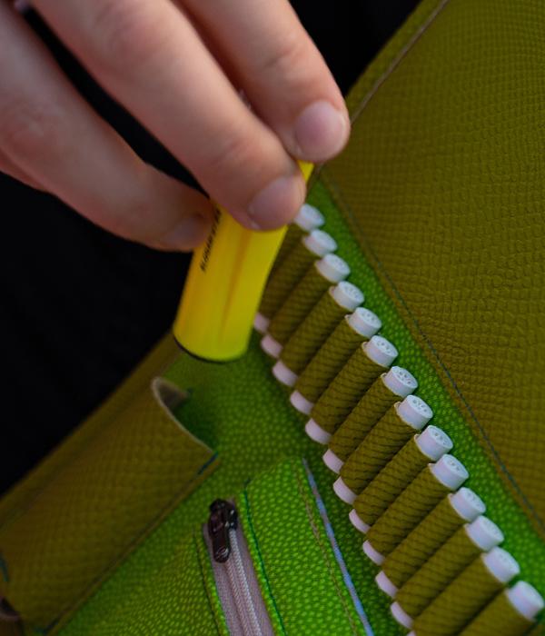 weezel runnerbag clipper steckfach detail ansicht