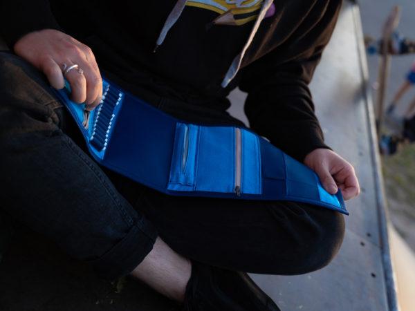 weezel runner bag paperboy kiffertasche kiffergeschenk front